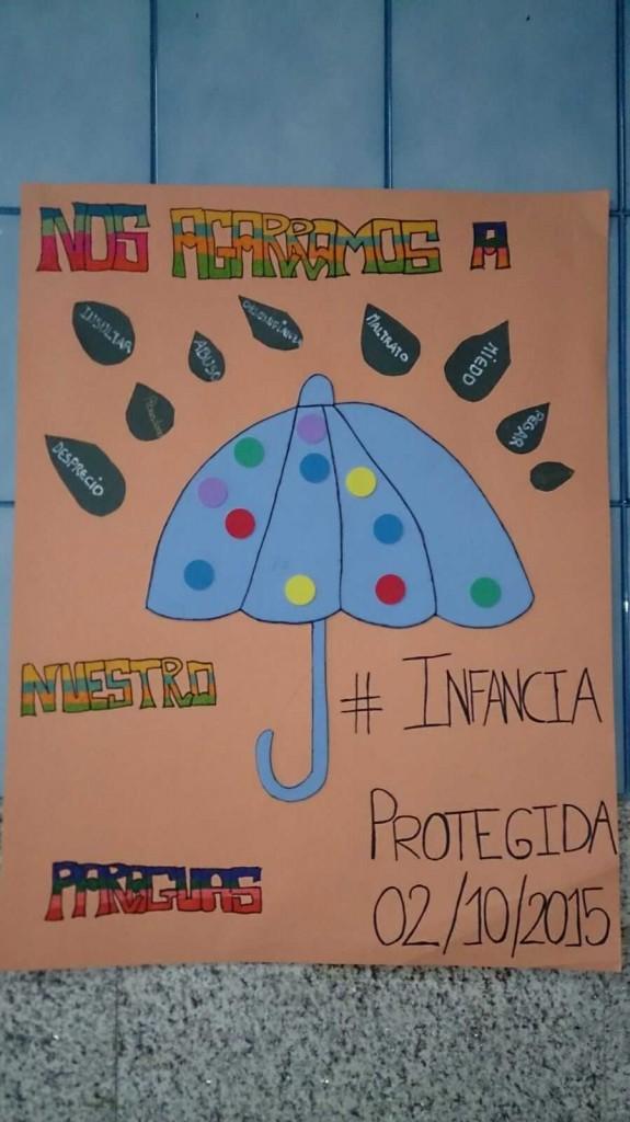 Paraguas ganador