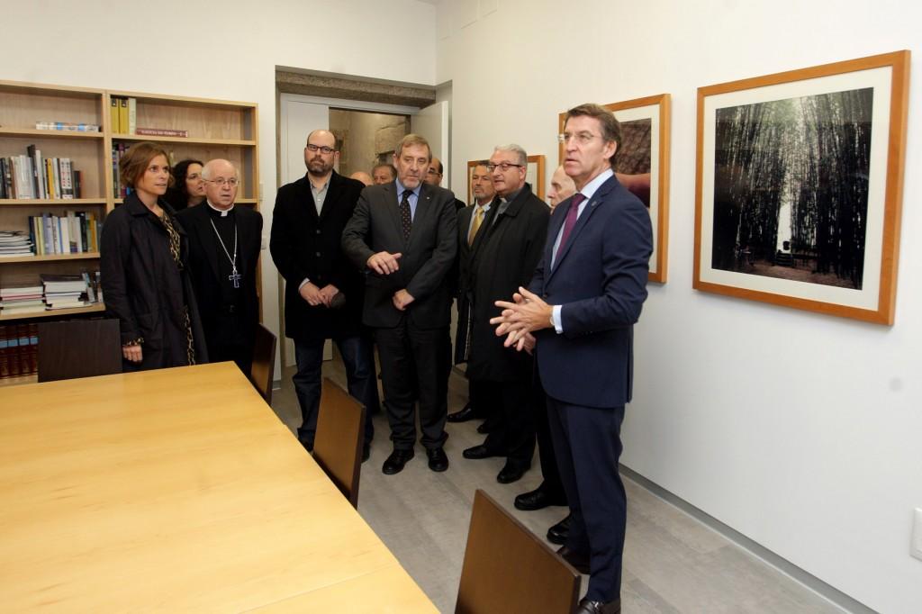 O titular da Xunta, Alberto Nœ–ez Feij—o, acompa–ado pola directora da Axencia de Turismo de Galicia, Nava Castro, presidir‡ o acto de inauguraci—n do Centro Internacional de Acollida aos Peregrinos.
