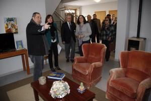 Lopez Abella visita o Fogar de Dona Basilisa.